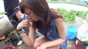 Exotic Japanese slut Jun Seto fucks with a guy Outdoor htm