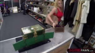 Big boobs Skyla Novea enjoy fucking the pawn dude for cash