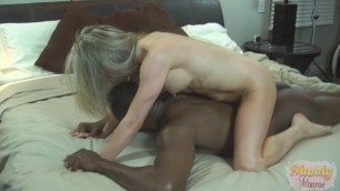 Magnificent Blonde Mandy Monroe Steamy With DFW Knight