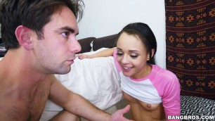 Pretty Holly Hendrix Almost Caught Fucking Her Stepbrother
