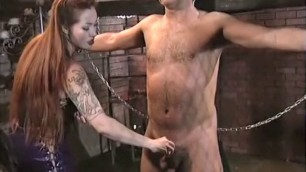 Depraved Brunette Persephone in exotic fetish pornstars