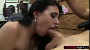 Kallie Joe loves grinding Seans big cock