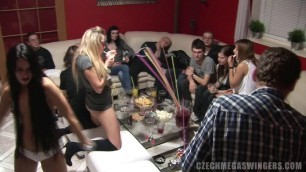 Men and women fuck each other Hot Czech Mega Swingers 15 PART 2