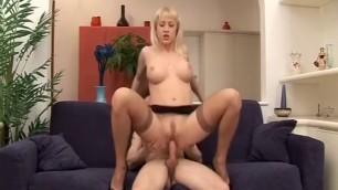 Hottest amateur video Mature blonde sucks his dick
