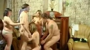 Horny amateur adult scene Boys and girls are fucked at a home party