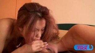 rose delight miyuki son two girls are fucked with a man