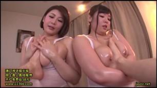 JUFD 771 Yuuri Oshikawa and Shizuka Nonami Japanese women fuck with one guy