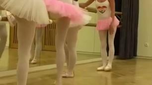 Blond girls cum and lesbian pussy fisting bondage Hot ballet sex