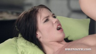 Stunning Brunette Lovenia Lux Loses Her Anal Innocence htm