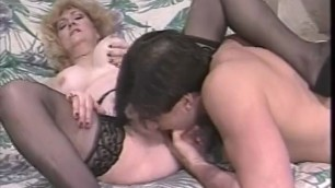 Mature woman in sexy lingerie is fucked Grandma In Woodyland 1 htm