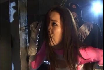 japanese pink power ranger in trouble Fantastic Sex