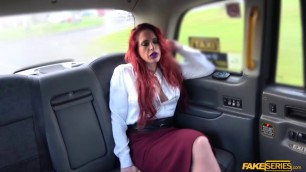 Milf Diverse Stacey hardcore sex in taxi