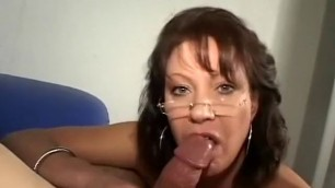 Horny milf Vanessa Videl in exotic big tits sucks his excited cock porn movie