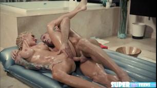 Sarah and Marcus hot massage sex