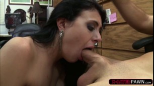 Kallie Joe loves grinding Seans big cock