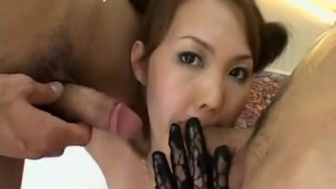 Asian fuck with a condom in best straight asian sex