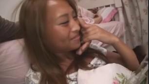 Fabulous Japanese whore Nanami Kanno Rena Konishi in Best Threesomes