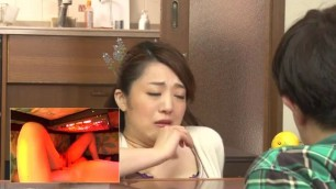 Hot Mother And Son Secretly Play The Incest Game Under Kotatsu 2 RCT 931