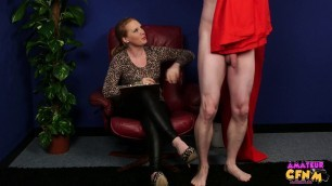 Bonnie White girl skillfully sucks cock Record Blowjob