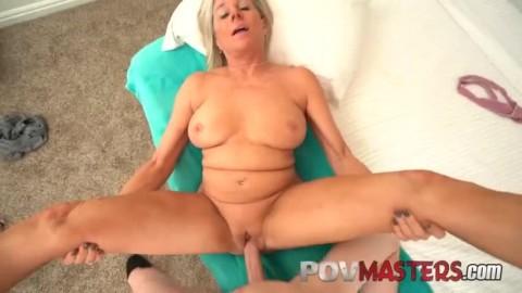 Sexy Busty Blonde Cougar Payton Hall Takes Big Dick Pov Sexy Slut Getting Fucked