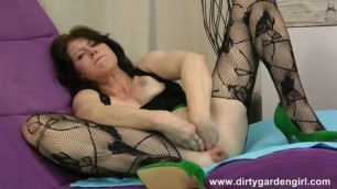Dirtygarden Anal Fisting On Purple Couch mature MILF BBW