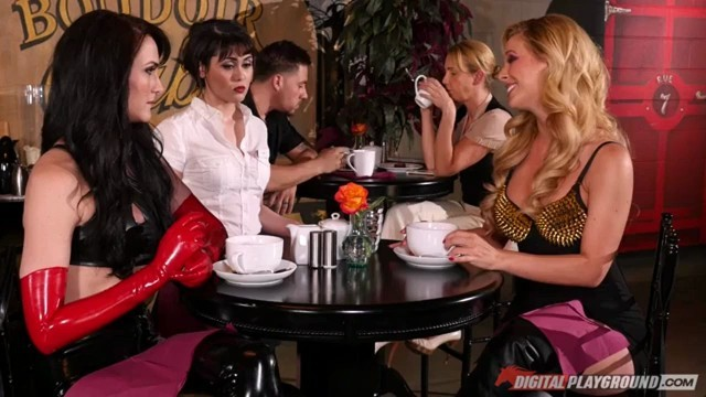 Alice Lighthouse and Alix Lynx Flesh House of Hedonism Episode 3