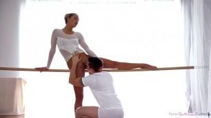 Bangs the lewd ballerina